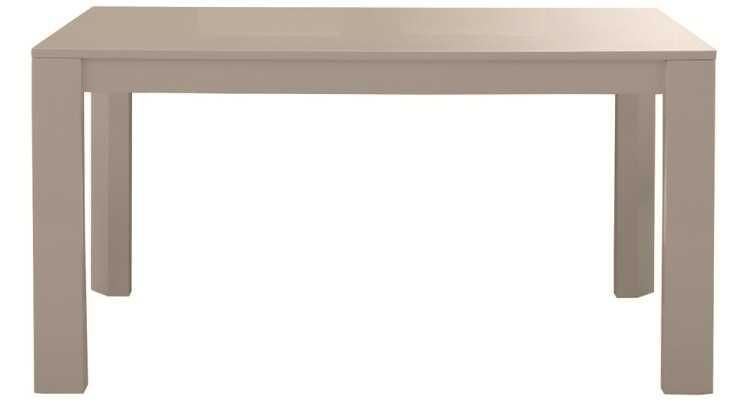 幅140cmグレー鏡面天板ダイニングテーブルの紹介02